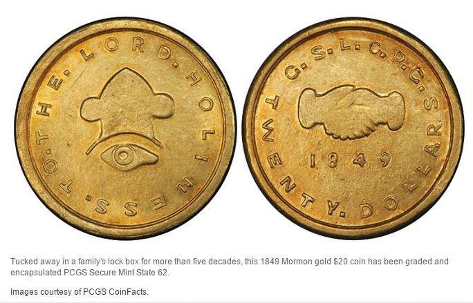 Mormon-gold-coin